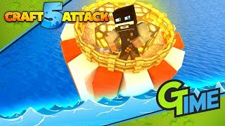 Das wird UNSER nächstes KRASSES BAUPROJEKT! - Minecraft Craft Attack 5 #107   Gamerstime