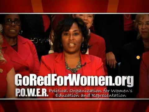 2013 POWER Go Red For Women PSA