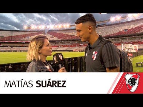 Matías Suárez:  ?Se me están dando las cosas, pero lo más importante es que el equipo ganó.?
