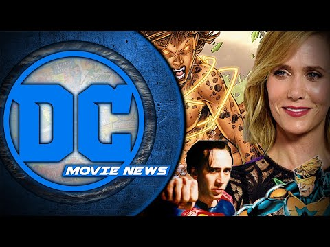 Kristen Wiig is Cheetah and Nicolas Cage is Superman? - DC Movie News