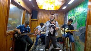 Pedrinho no Rádio BANDA FIVE-Calvin Harris - Blame ft. John Newman (COVER)