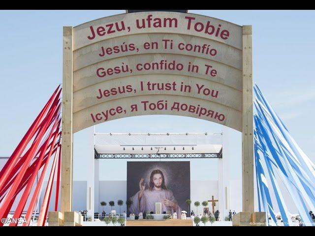 Papa concluiu JMJ2016 diante de um milhão e meio de jovens