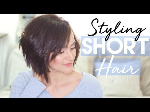 Short hair styles - How I Style My Short Hair