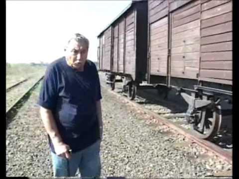 עובדיה ברוך - הירידה מהרכבת באושוויץ