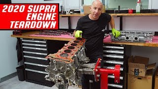 Video 2020 Supra B58 Engine Teardown - First Look - Better than the 2JZ? MP3, 3GP, MP4, WEBM, AVI, FLV Agustus 2019