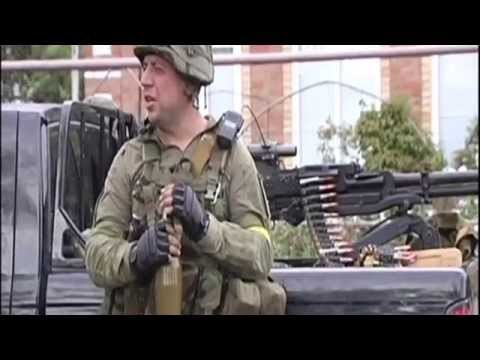 Army - A mixture of Ukrainian soldiers, police and volunteers are fortifying checkpoints designed to defend the city of nearly 500000 from Russian forces who are gradually advancing. http://uatoday.tv/...
