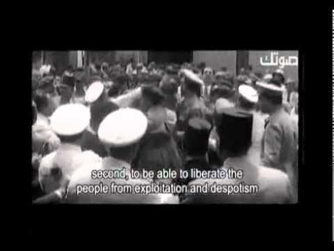 فيلم وثائقى عن الرئيس جمال عبد الناصر...