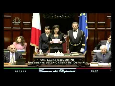 Boldrini: facciamo di quest'aula la casa della buona politica