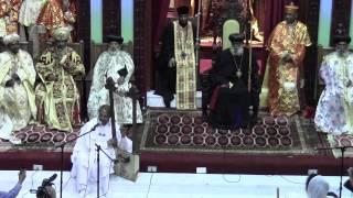 Toronto St. Mary Ethiopian Orthodox Tewahedo Cathedral Consecration - Begena Derdari Alemu Aga