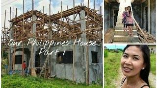 Ormoc Philippines  City new picture : Our Philippines House 2016 in Dolores, Leyte near Ormoc City - video one - new build house design