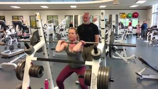 Getting Stronger! 135lb Front Squat