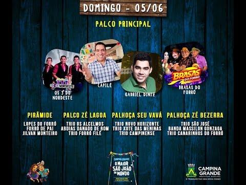 Tv Junina - São João de Campina Grande - 05/06/2016
