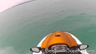 3. A day on the water-(Kawasaki STX 12F Jet Ski )