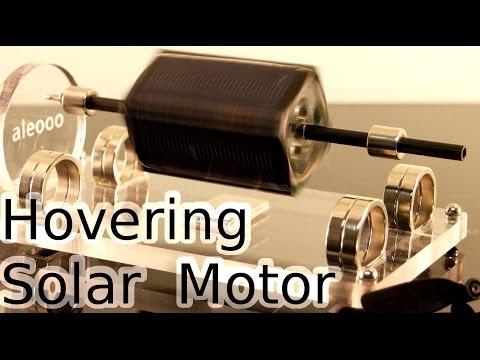 A levitating solar motor (видео)
