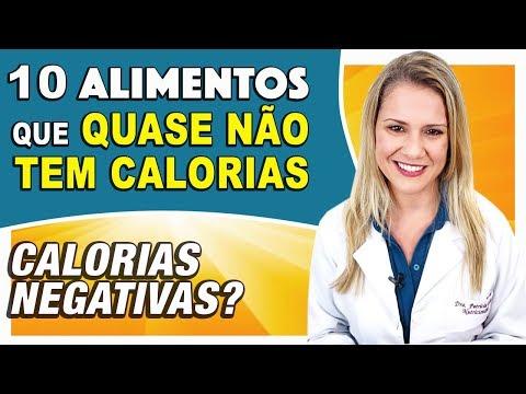 Nutricionista - 10 Alimentos Que [Quase] Não Tem Calorias [CALORIAS NEGATIVAS?]