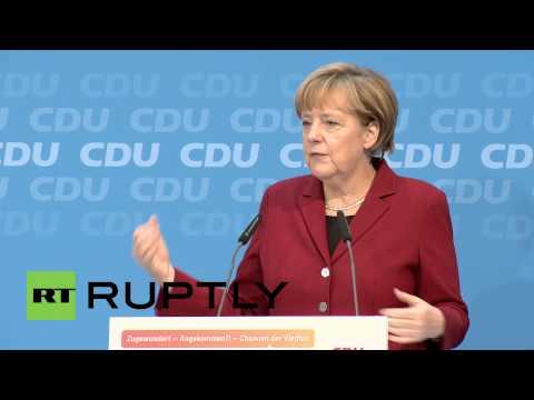 """Pour Angela Merkel : """"l'Islam fait partie de l'Allemagne"""""""