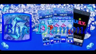 Blue Diamond Slot Machine YouTube video