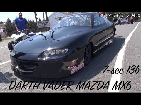 Darth Vader's 7sec Rotary Mazda MX6