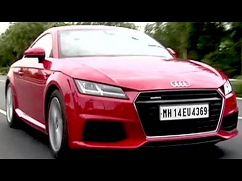 New Audi TT Coupe driven