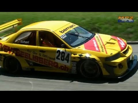 Bergrennen Hillclimb Reitnau 2010 – Only the fastest Touring cars and the best Sounds