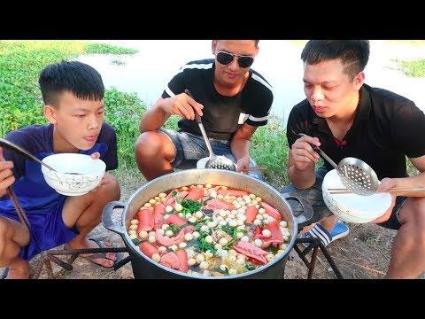 Hữu Bộ | Làm Nồi Lẩu Thập Cẩm Khổng Lồ To Nhất Việt Nam | Hot Pot Giant - Thời lượng: 16:17.