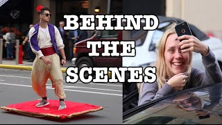 ALADDIN IN REAL LIFE; Behind The Scenes