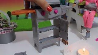 Video Barbie Barbekü Tadilatı - Barbie Yeni Oyuncağı Nasıl Mahvedilir? DIY - Bidünya Oyuncak MP3, 3GP, MP4, WEBM, AVI, FLV November 2017