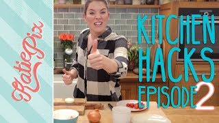 Top 5 Kitchen Hacks | Episode 2 | Katie Pix by Katie Pix