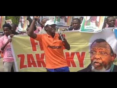 Happening Now :  Shi'ite Members Storm Abuja, Demand El-Zakzaky's Release