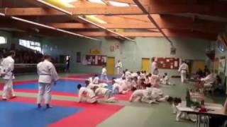 Animation au Stade Valériquais Judo.