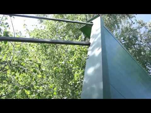 Шумозащитное экран Высотой 4600 мм. Цвет RAL 6002
