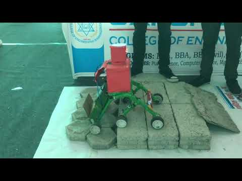 (Info-Tech Chitwan 2074 | Robots made by College students ...63 sec.)