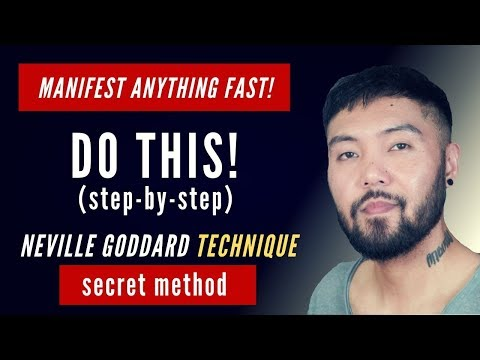 Neville Goddard's SECRET Technique to Manifest ANYTHING You Want FAST!