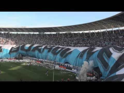 Recibimiento vs la amargura - Racing 1 - 2  Amargos - Liguilla Pre libertadores - La Guardia Imperial - Racing Club