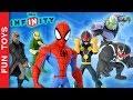 Todos Os Personagens Do Playset Do Homem Aranha Do Jogo