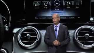 Mercedes-Benz 2015 C-Class World Premiere NAIAS 2014