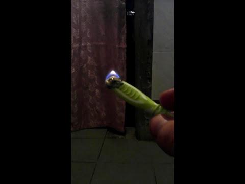 Как из зубной щетки сделать нож