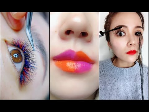 Amazing Makeup Tricks 💄😱 Easy Eyeliner Vs Eyebrow And Lipstick Tutorial For Beginners 💄💋part 9