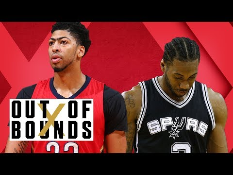 What Injury Says About Kawhi Leonard; Is Anthony Davis Talking Too Big? | Out of Bounds (видео)