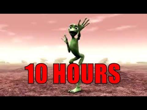 10 HOURS Dame Tu Cosita - El Chombo | Alien dance 10 Hours