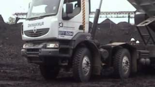 Tenggarong Indonesia  City new picture : Renault Trucks + Pub Traillers Operation Tenggarong Indonesia by Husein