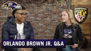 Q&A Orlando Brown Jr.   Baltimore Ravens