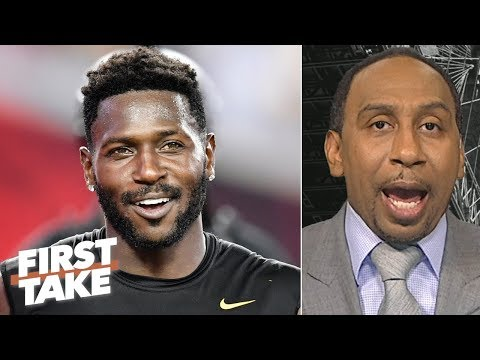 Video: Antonio Brown 'embarrassed' himself with helmet issue, not worth the drama - Stephen A. | First Take