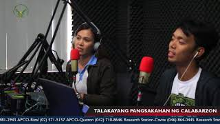 Episode 12 with Rice Program Agricultural Technician II Erickson Sagun
