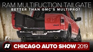 2019 Ram 1500 Multifunction tailgate is like French doors for your truck | Chicago 2019 by Roadshow