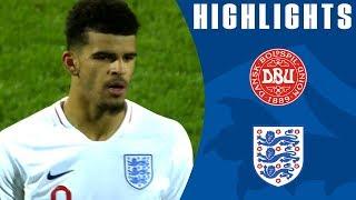 Video Denmark U21 1-5 England U21 | Solanke's Ridiculous Backheel Chip! | Official Highlights MP3, 3GP, MP4, WEBM, AVI, FLV April 2019