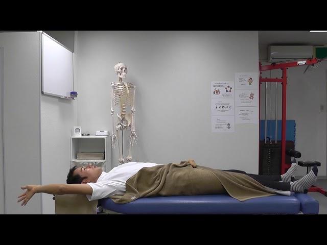 【セルフケア動画】坐骨神経痛の痺れには 全身の筋肉をゆるめる『タオル筋ゆる』