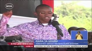 Rais Uhuru Kenyatta Atangaza Kurejea Kwa Mpango Wa Kuwapa Vijana Ajira