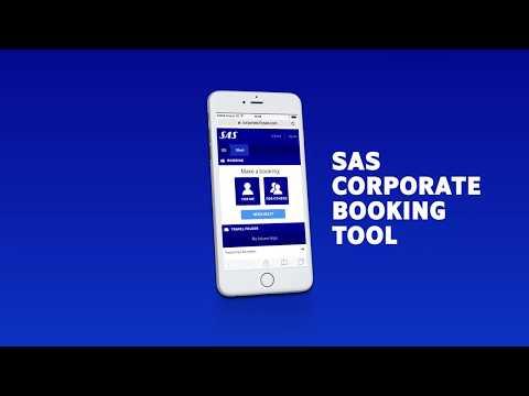 SAS Corporate Booking Tool