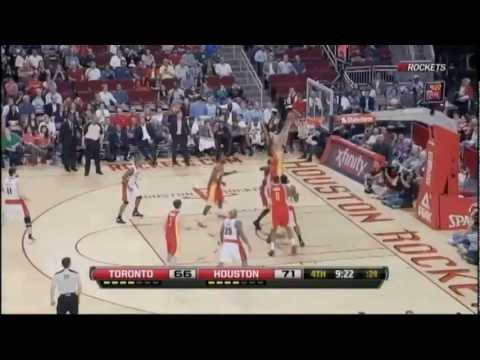 [2.28.12] Courtney Lee - Put Back Dunk vs Raptors